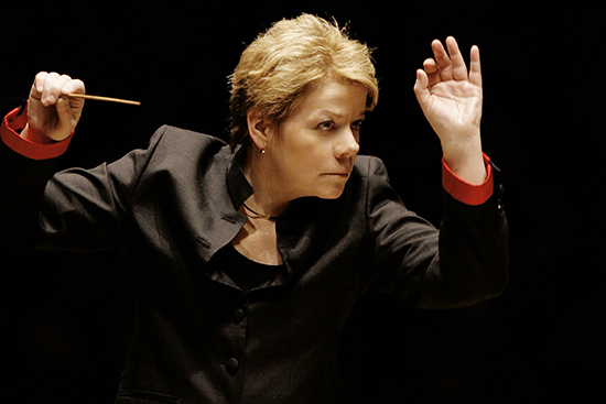 Marin Alsop conducts the BSO