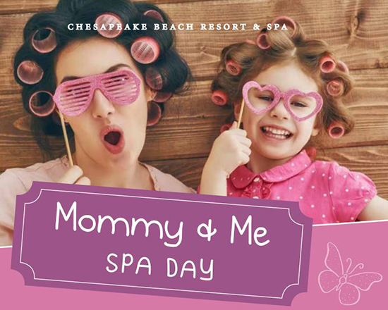 Mommy and Me Spa Day poster
