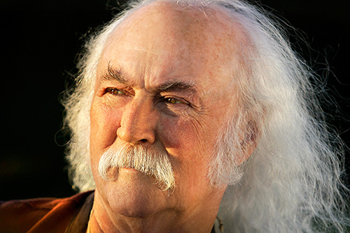 Press photo of David Crosby