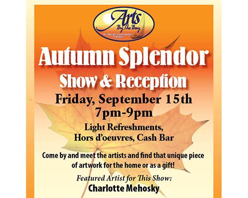 Autumn Splendor Show & Reception flyer