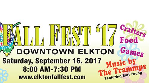Elkton Fall Fest billboard