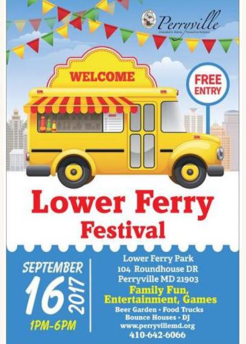 Lower Ferry Festival poster