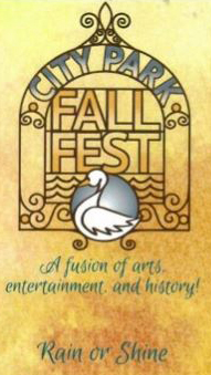 City Park Fall Fest poster