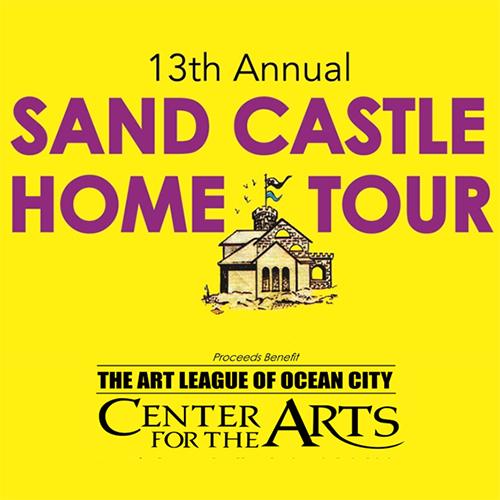 Art League of Ocean City Sand Castle Tour poster