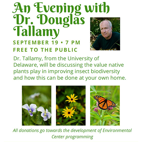 An Evening with Dr. Doug Tallamy poster