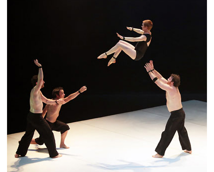 photo of the performing group