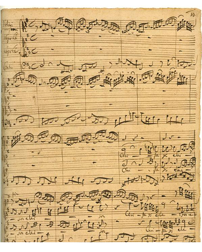 Bach's Mass in B-minor sheet music