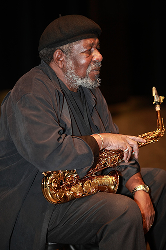 Photo of Jazz Musician Carl Grubbs
