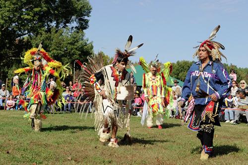American Indian Festival Dancers