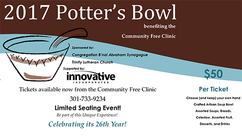 26th Annual Potter's Bowl poster
