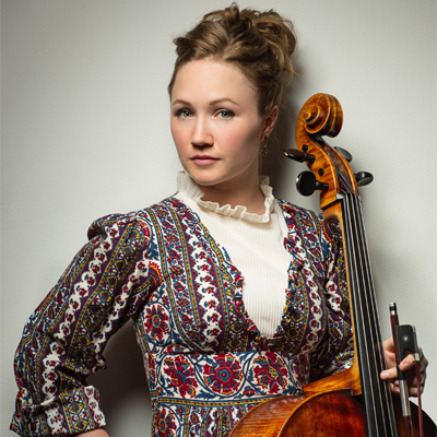 Ashley Bathgate with Cello