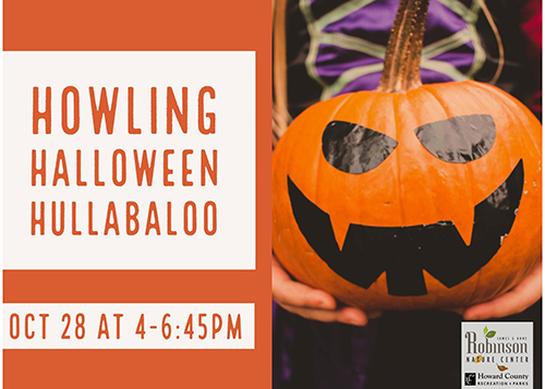 Howling Halloween Hullabaloo poster