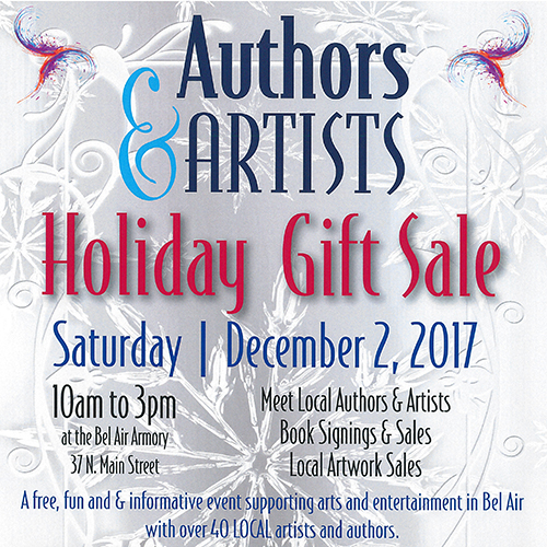 Authors and Artists Holiday Gift Sale