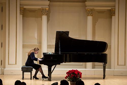 Liana Paniyeva, piano, in recital