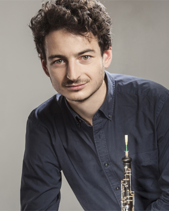 Olivier Stankiewicz with oboe