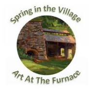 Spring in the Village - Art at the Furnace logo