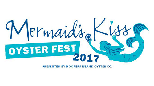 Mermaid's Kiss Oyster Fest sign