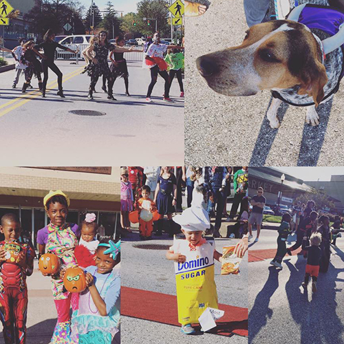 Trick-or-Treat Through the Square 2016