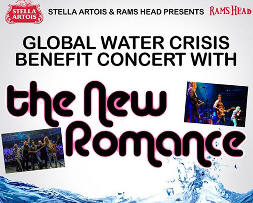 The New Romance Concert Poster