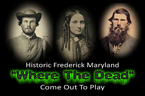 Poster for Historic Frederick Ghost Tours