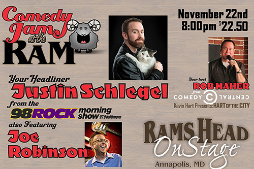 Comedy Jam at the Ram poster