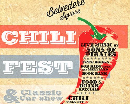 Chili Fest & Classic Car Show poster