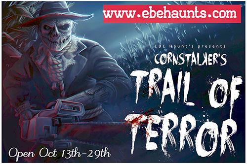 CornStalker's Trail of Terror poster