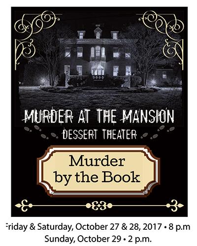 Murder Mystery Dessert Theater poster