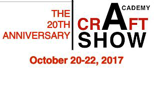 The Academy Craft Show poster