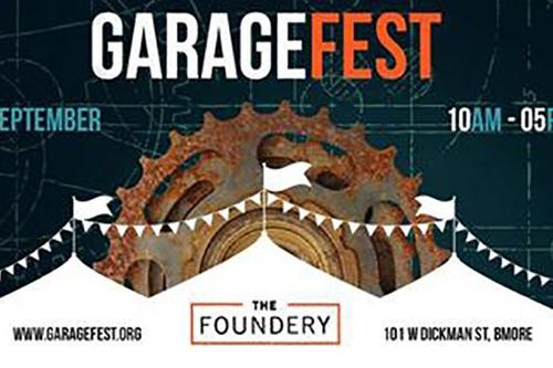 Garage Fest 2017 poster