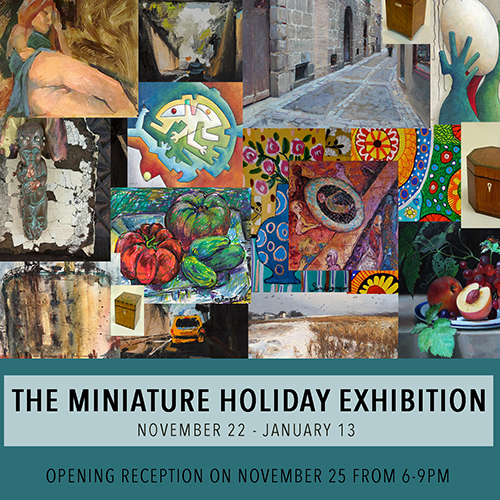 Poster for The Miniature Holiday Exhibition