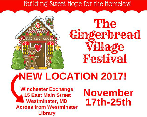 Gingerbread Village Festival poster