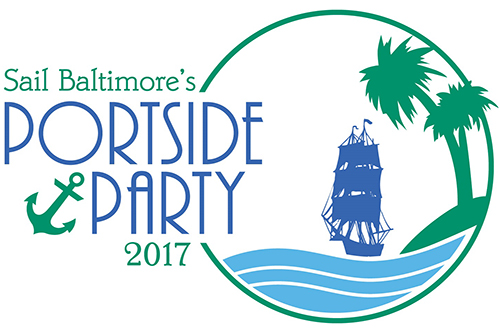 Sail Baltimore's Portside Party poster