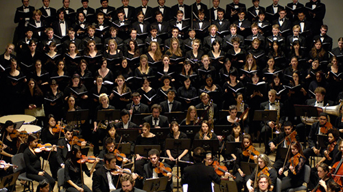 Peabody Symphony Orchestra, Peabody-Hopkins Chorus, Peabody Singers
