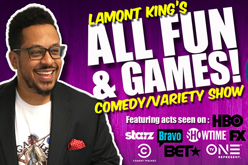 Lamont Kind All Fun & Games Show poster