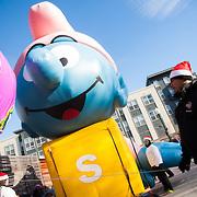 Floats at the Parade