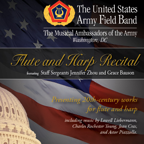 U.S. Army Field Band Concert - Flute & Harp Recital