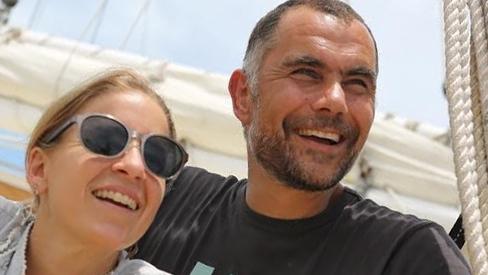 Anna Cummins & Marcus Eriksen on the Ocean