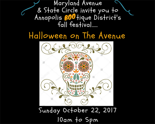 Halloween on the Avenue Poster