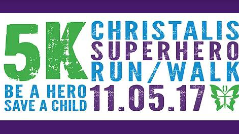 Superhero 5k Run-Walk poster