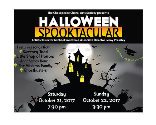 Halloween Spooktacular poster