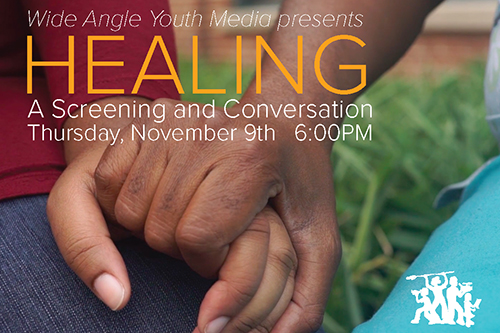 Healing: A Screening & Conversation poster