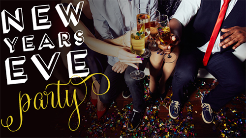New Year's Eve Party poster