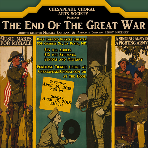 The End of the Great War poster