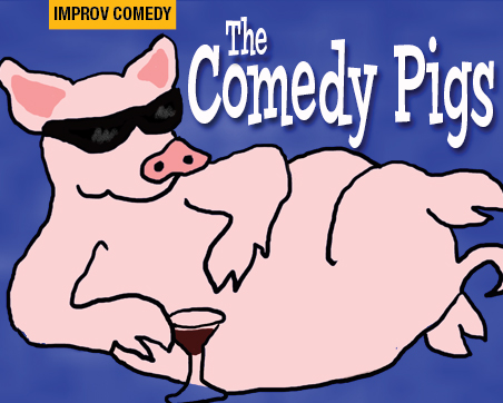 The Comedy Pigs Logo