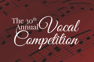 Annapolis Opera 30th Vocal Competition poster