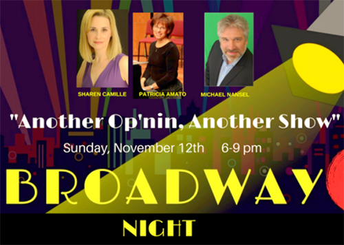 Broadway Night at Sotto Sopra poster