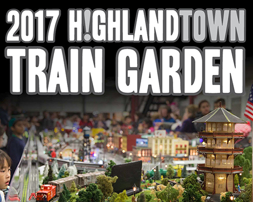 Highlandtown Train Garden Visitors