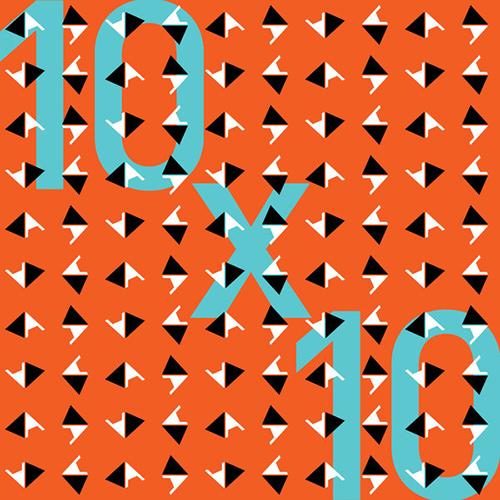 10x10 Art Exhibition Logo