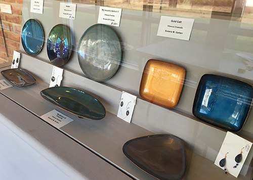 Row of items at the Sandy Spring Museum